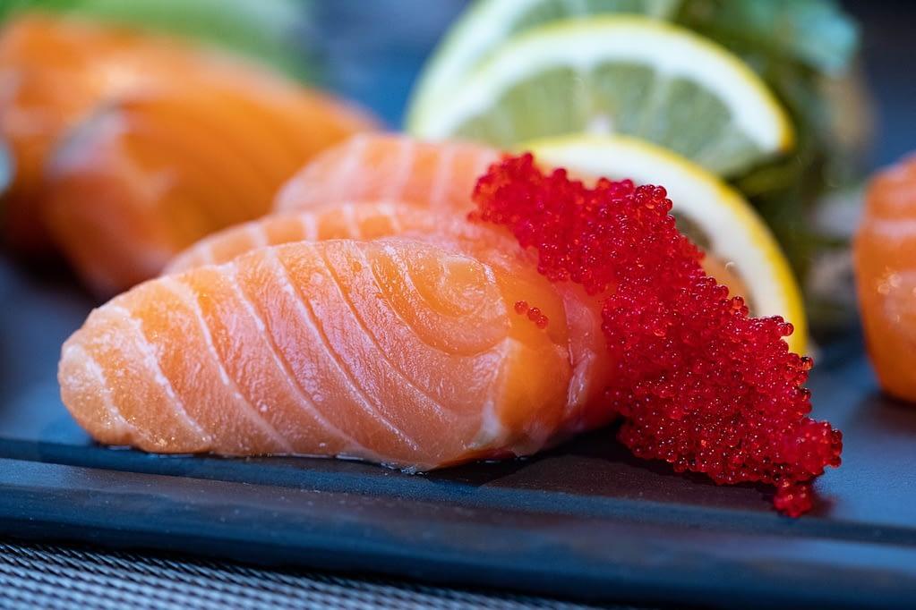 salmon fish for dinner