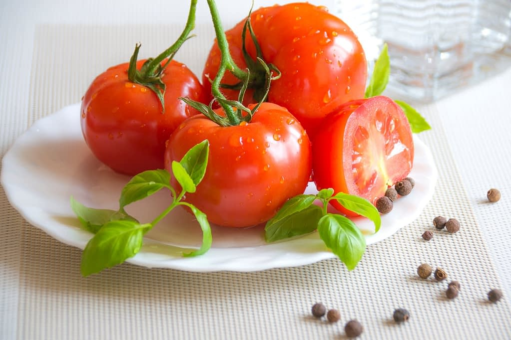 tomatoes for snack