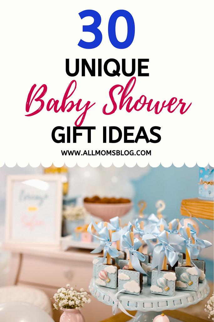 30 unique baby shower gift ideas for new moms- allmomsblog