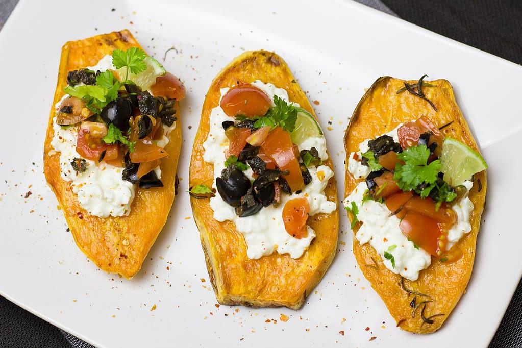 sweet potato healthy snack