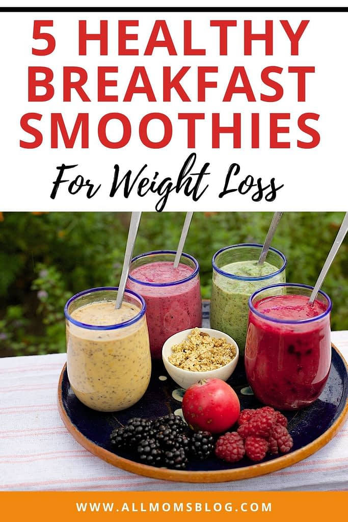 5 healthy breakfast smoothies that will help you lose weight- allmomsblog