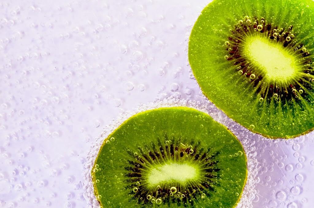 green kiwi before bedtime
