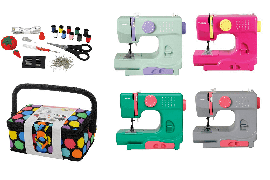 sewing machine and other equipments for girls- non toy gift ideas for kids