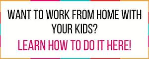 side hustles for moms. how to work from home as a mom. working from home as a sahm.