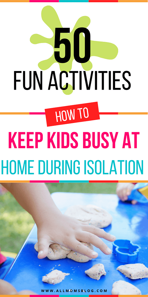 50 fun activities for kids during school closure- allmomsblog