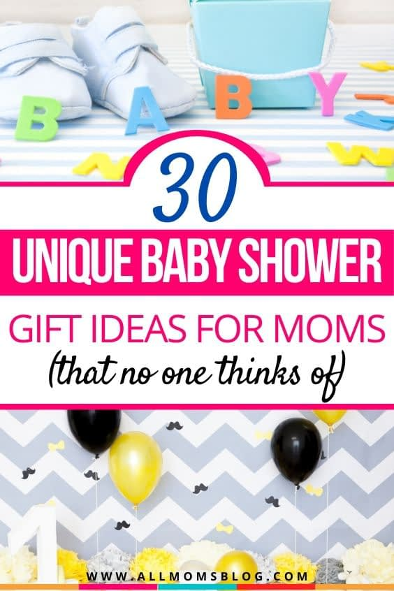 30 unique baby shower gift ideas. baby shower presents. unusual baby shower gifts.