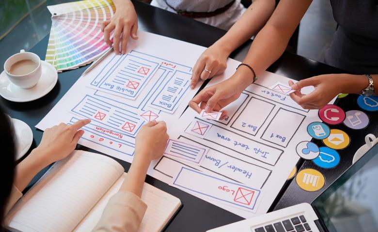 start designing websites